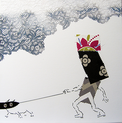Malerei Gudrun und Chuck