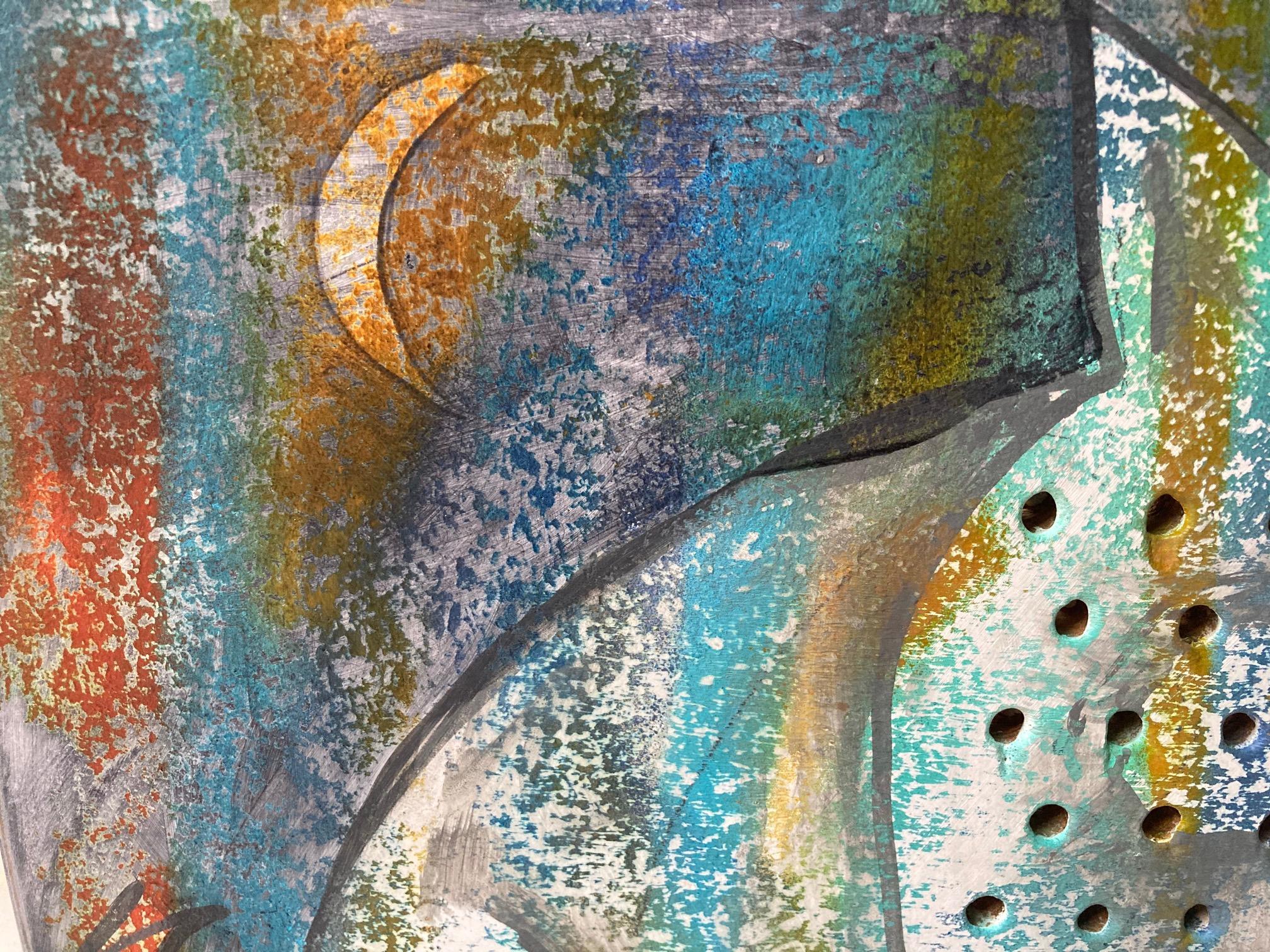 Ausschnitt aus Gennadi Isaak Bild Grischa mit Mondsichel
