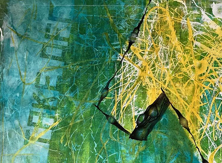 """Detailansicht aus Bild """"TAKE OFF"""" von Gennadi Isaak"""